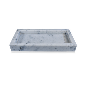 Carrara Gioia Natural Marble Tray