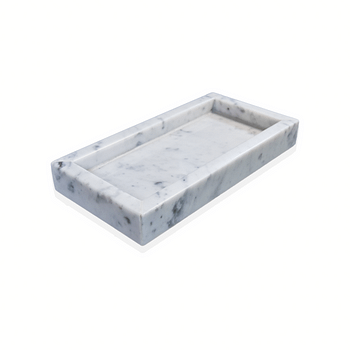 Carrara Gioia Natural Marble Tray