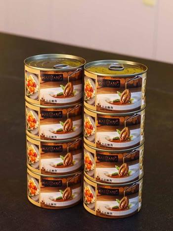 8 Cans Hai Wang Hong Kong Braised Premium Abalone